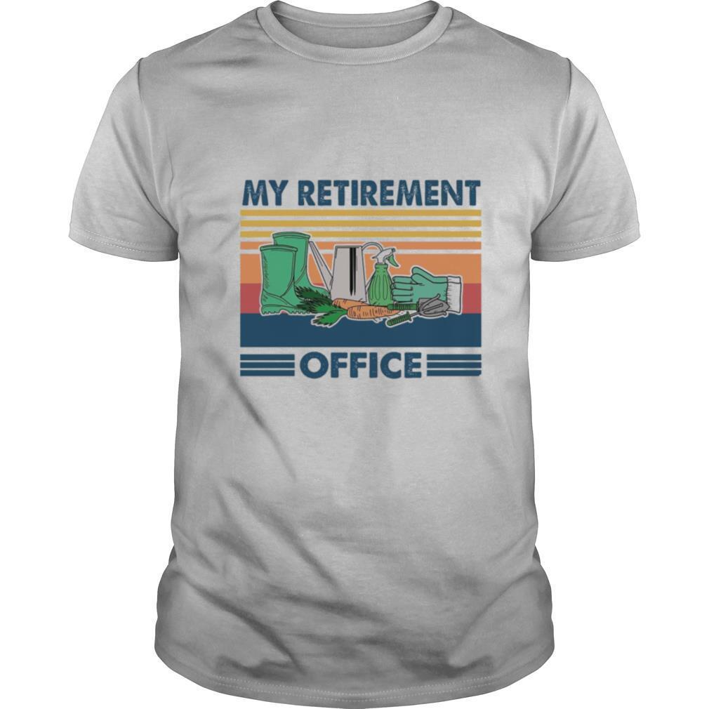 My Retirement Office shirt Classic Men's