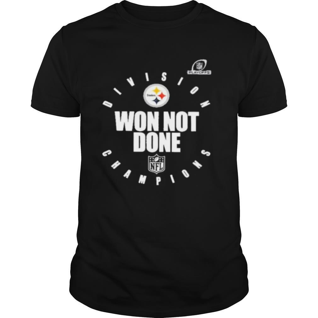 pittsburgh steelers champions 2020 won not done shirt Classic Men's