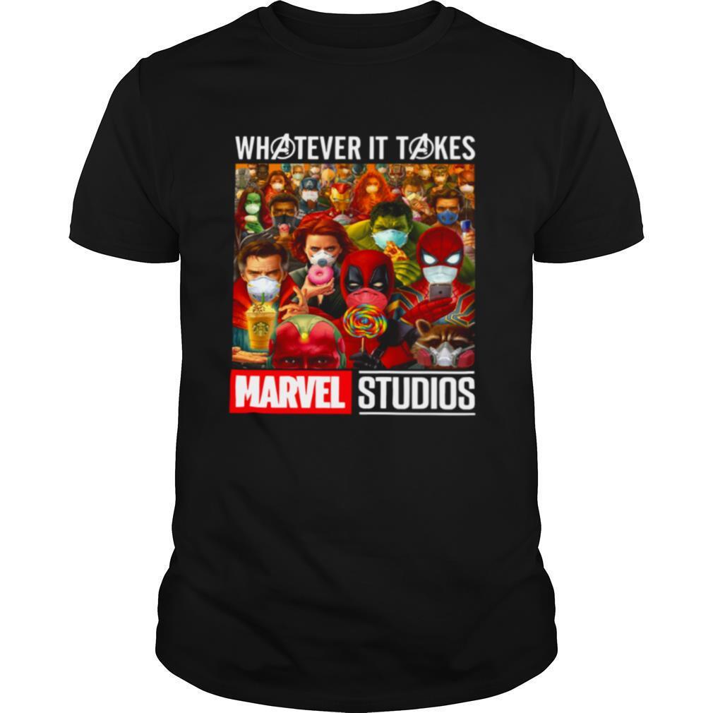 Whatever It Takes Marvel Studios Avengers Face Mask shirt Classic Men's