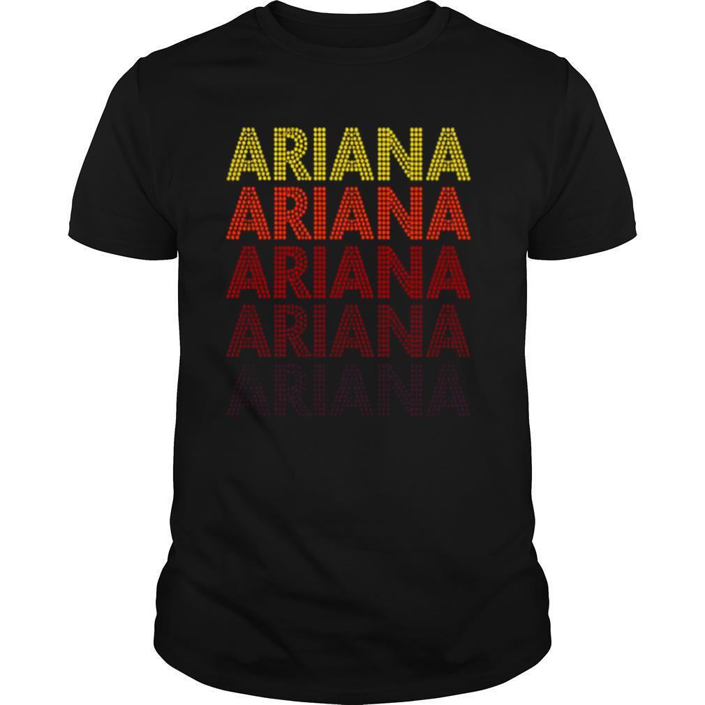 Ariana Ariana Ariana shirt Classic Men's