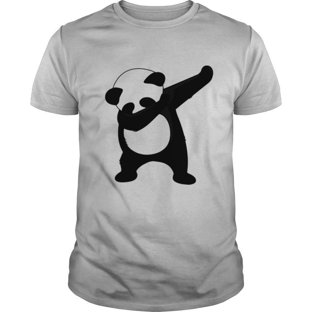 Dabbing Panda Cute Animal Giant Panda Bear Dab Dance shirt Classic Men's