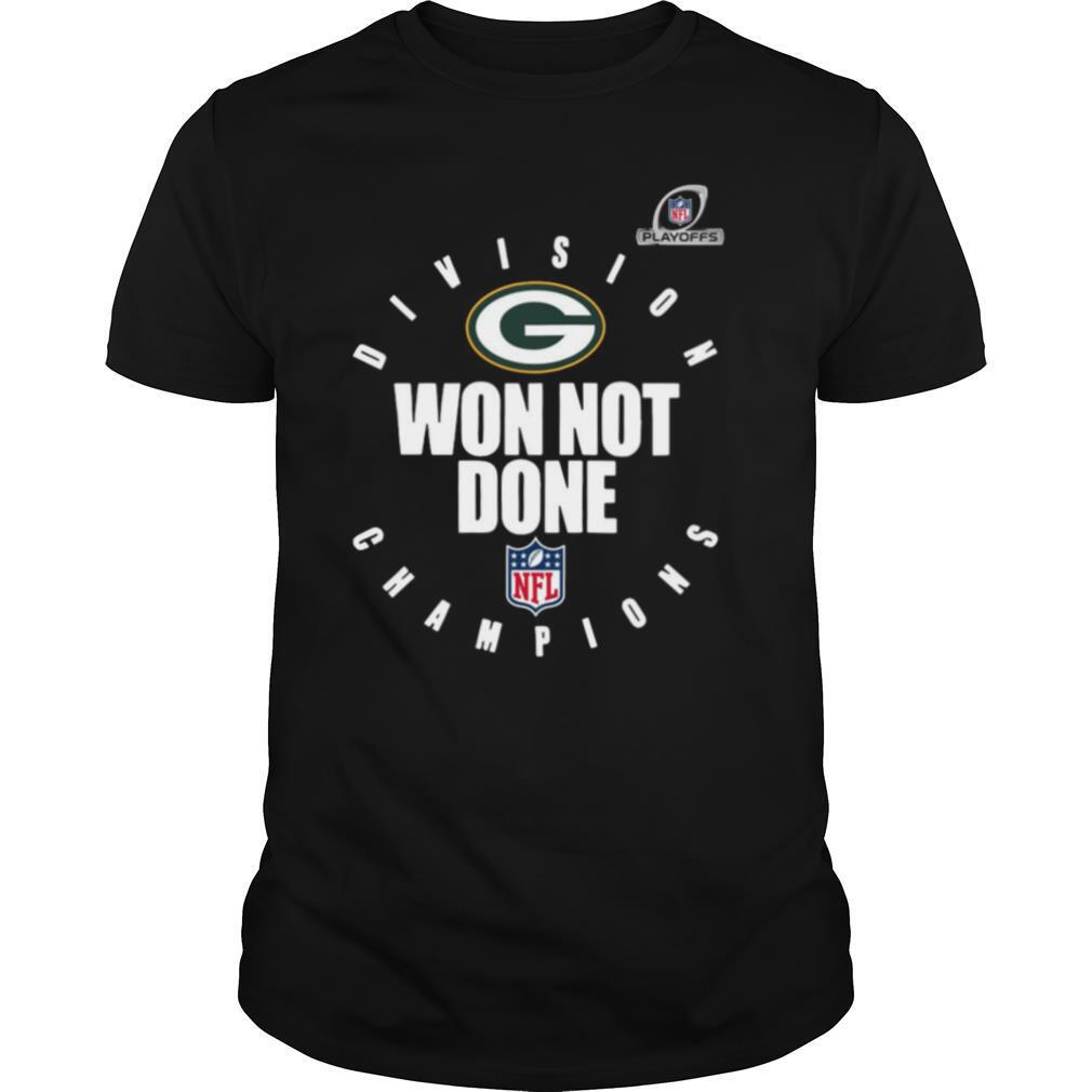 Nfl Playoffs 2020 Won Not Done Division Champions Green Packers shirt Classic Men's