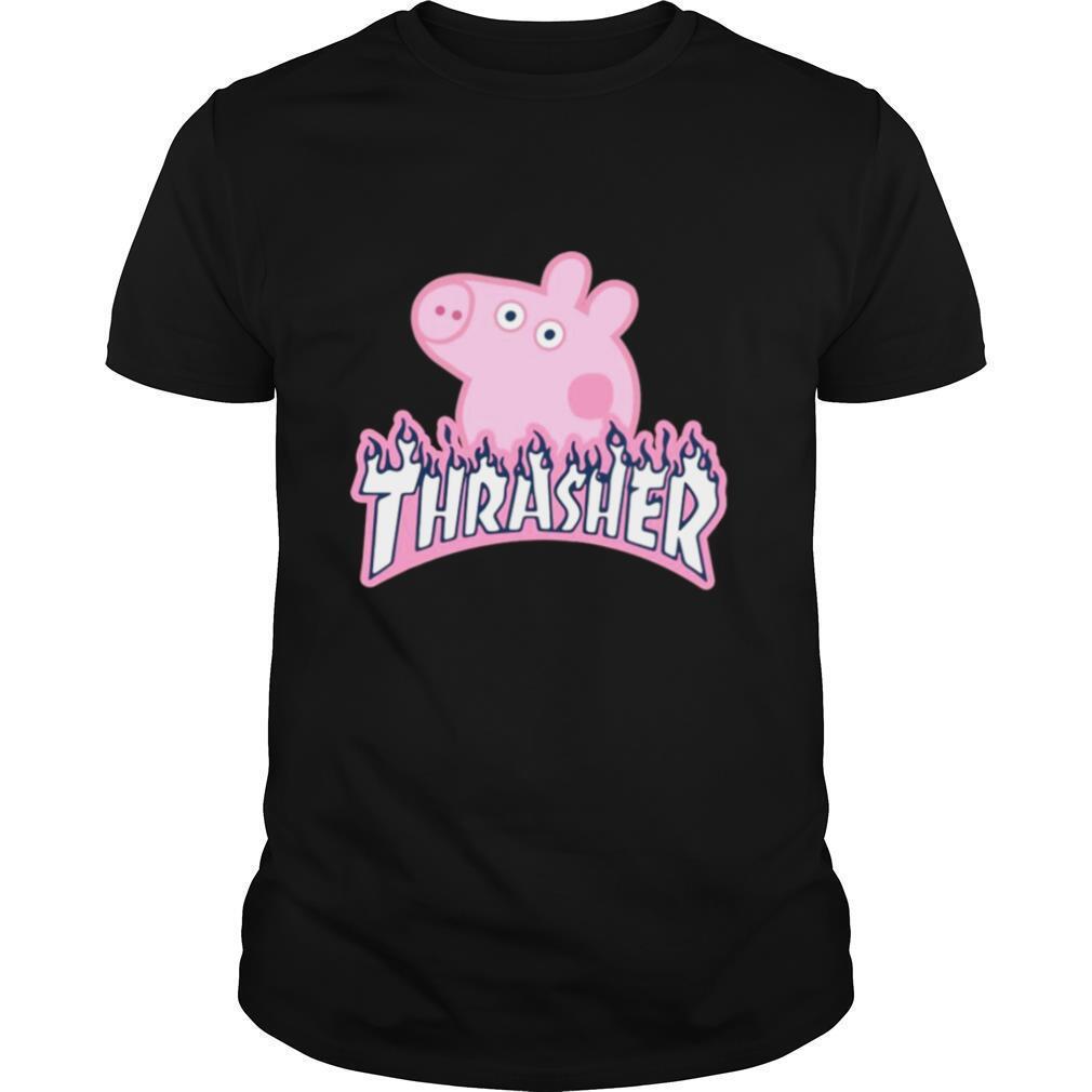 Peppa Pig Thrasher shirt Classic Men's
