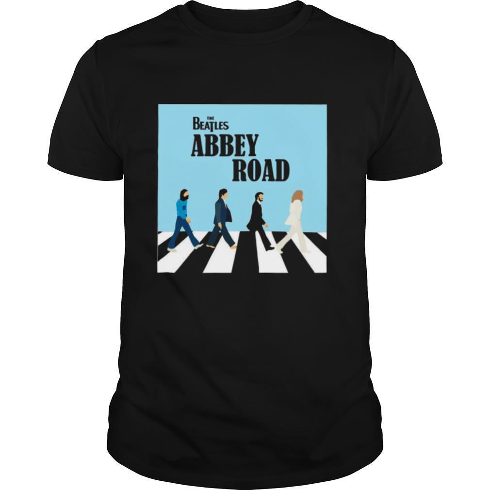 The Beatles Abbey Road Road John Lennon Canvas Wall shirt Classic Men's