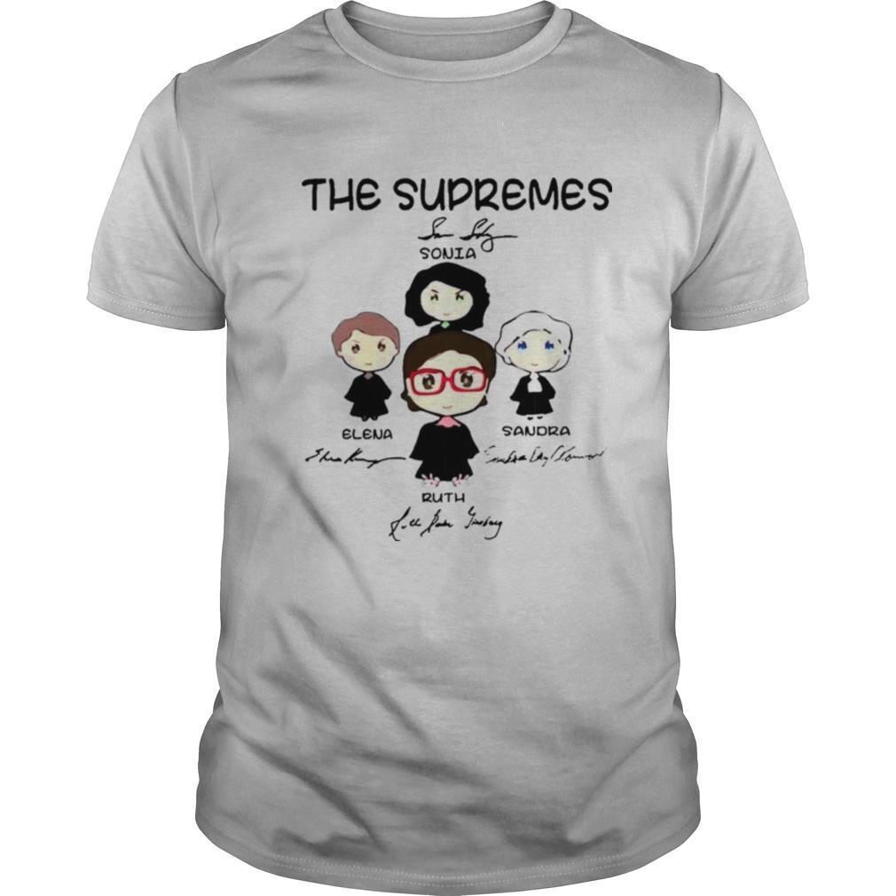 The Supremes Signatures shirt Classic Men's