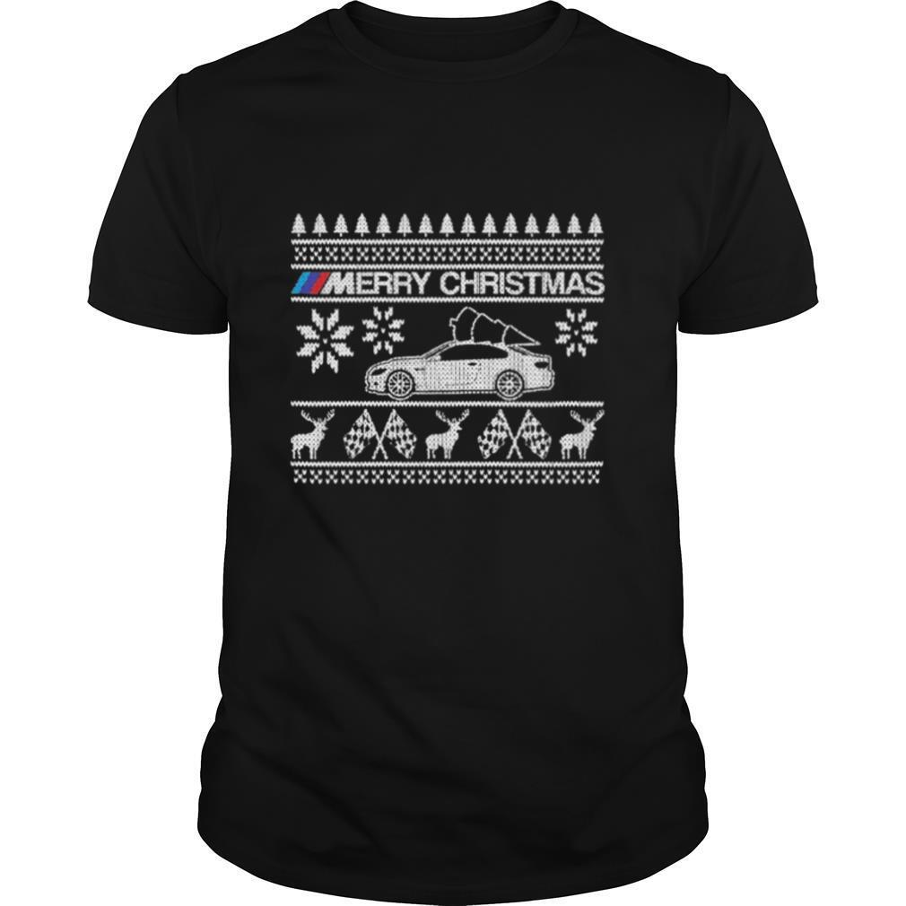 Car BMW M Merry Ugly Christmas Sweater shirt Classic Men's