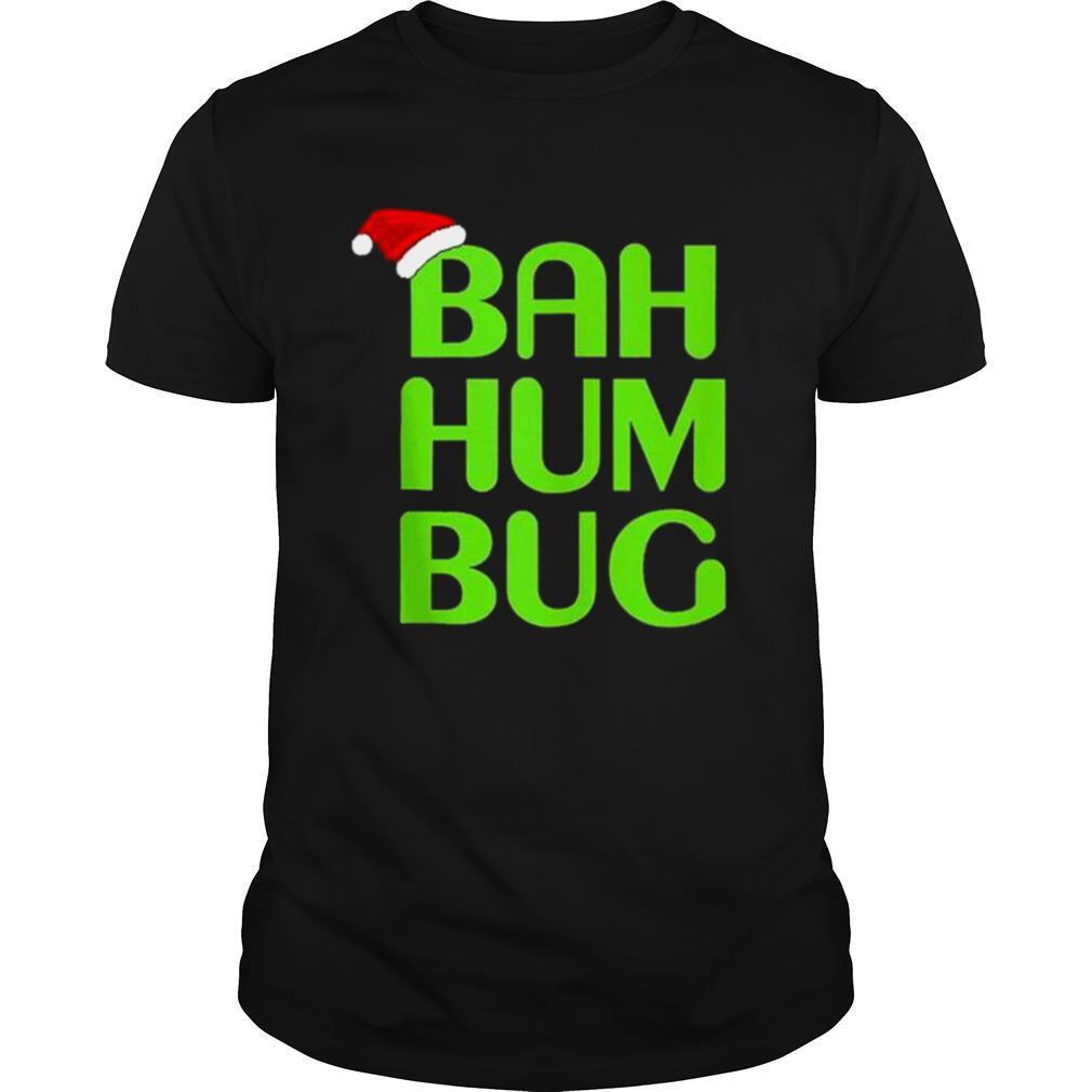 Christmas Bah Humbug Shirt ArtXmas Humbug Santa Hat shirt Classic Men's