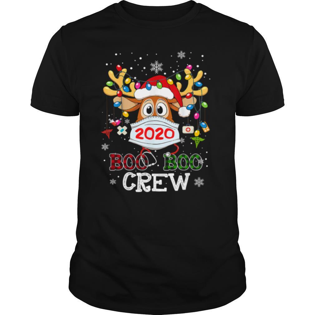 Christmas Boo Boo Crew Reindeer Nurse shirt Classic Men's