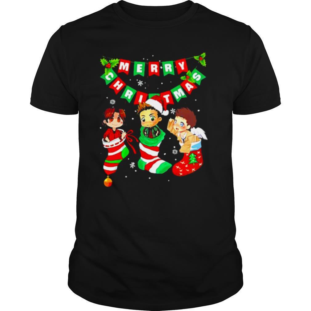 Merry Christmas Supernatural shirt Classic Men's