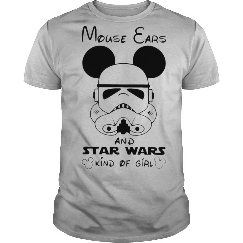 Mouse Ears and Star Wars kind of girl shirt Classic Men's