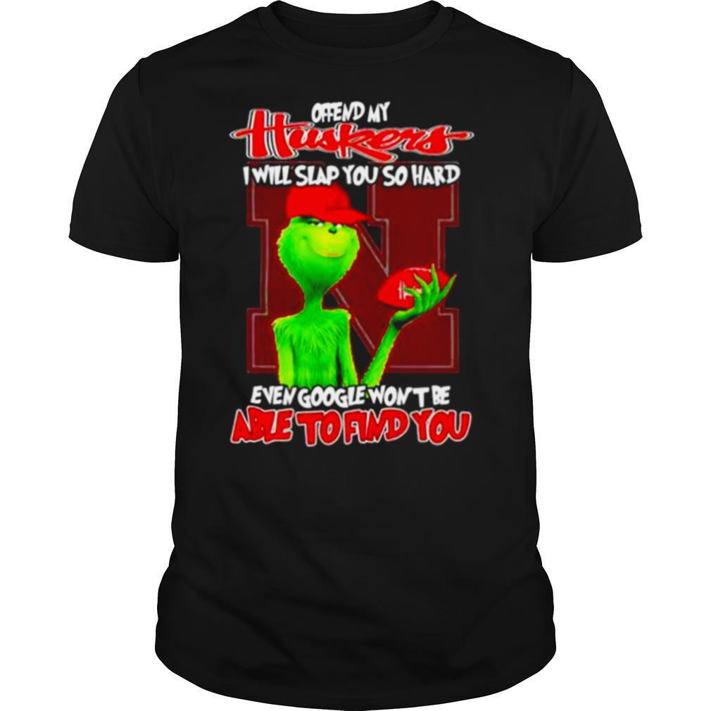 My Huskers I Will Slap You So Hard Even Google Wont Be Able To Find You shirt Classic Men's