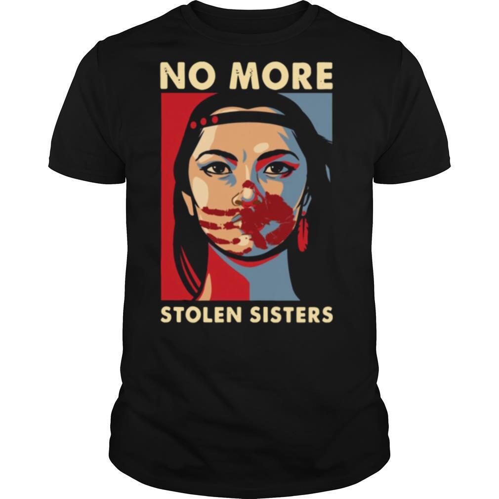 Native Americans no more stolen sisters shirt Classic Men's