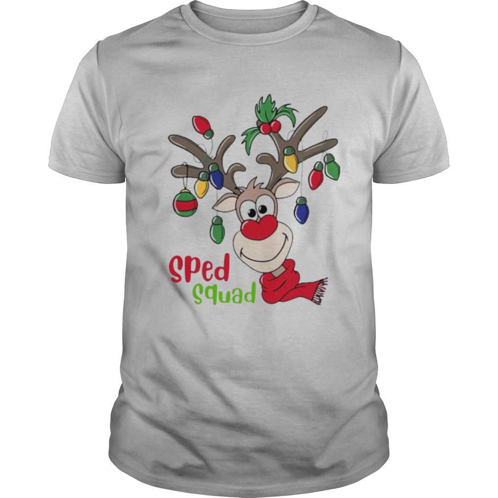 Reindeer Sped Squad Christmas shirt Classic Men's