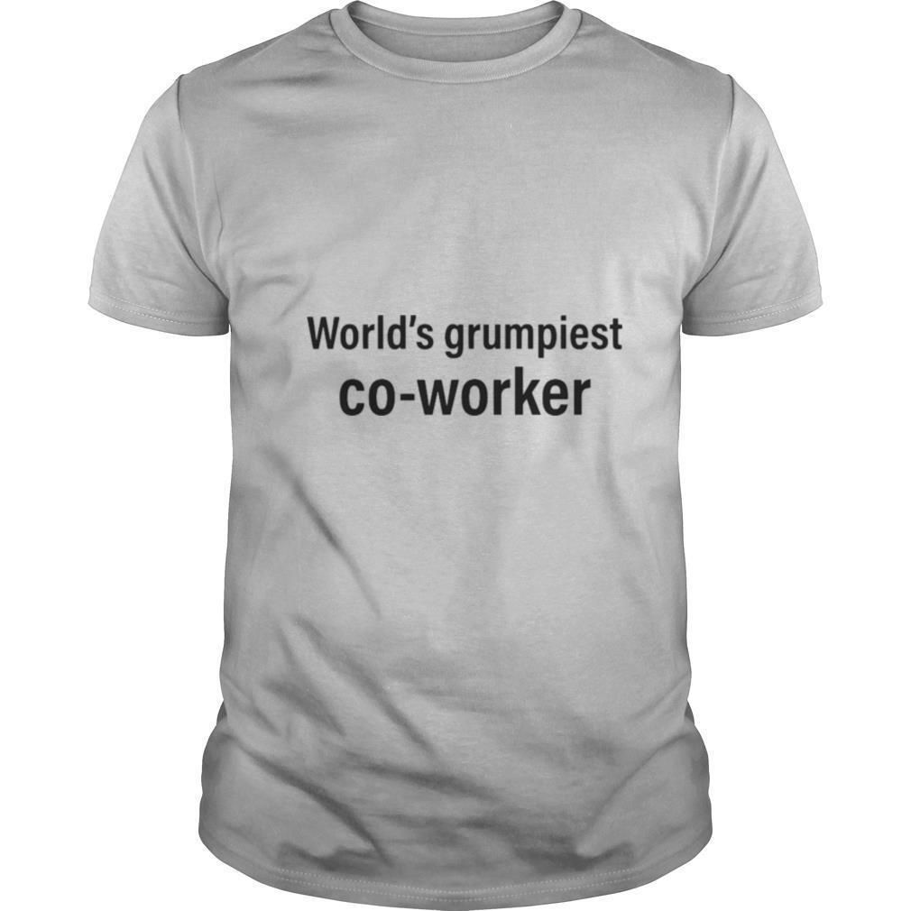 World's Grumpiest Co worker shirt Classic Men's