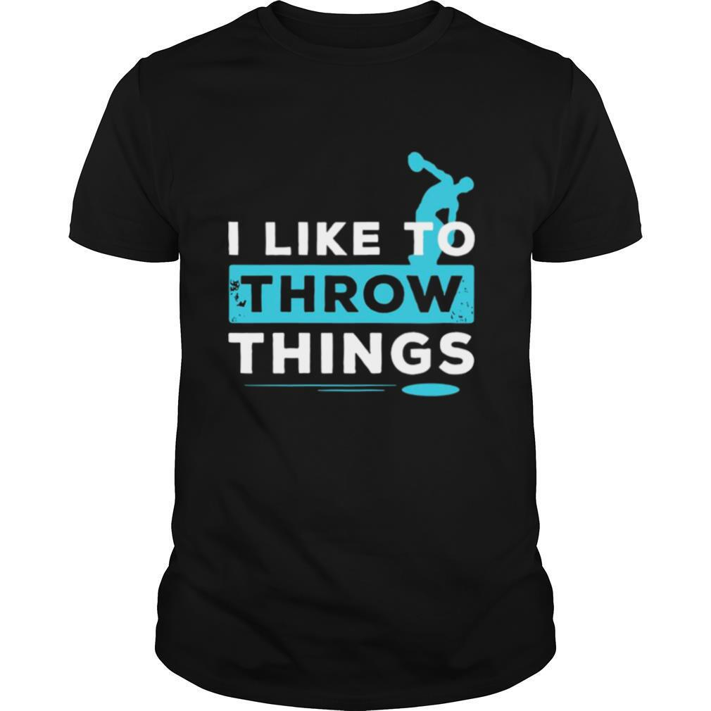 Like To Throw Things Track Field Discus Athlete shirt Classic Men's