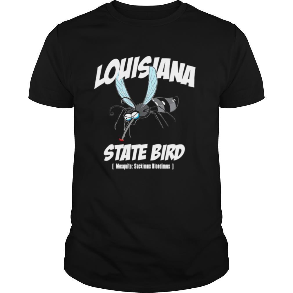 Louisiana State Bird Mosquito Joke shirt Classic Men's