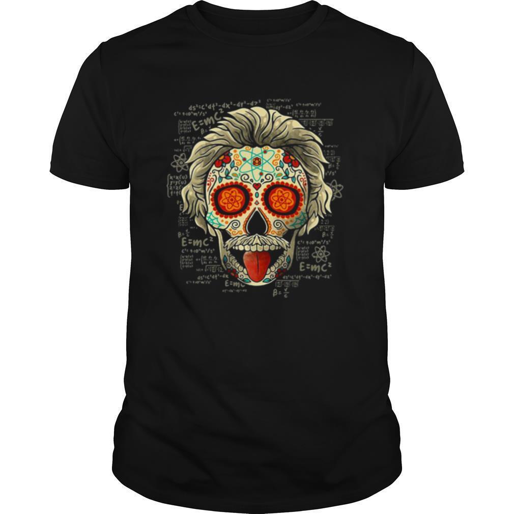 Albert Einstein Skull shirt Classic Men's