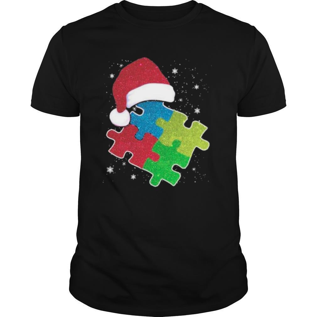 Autism hat Santa happy Merry Christmas 2020 shirt Classic Men's