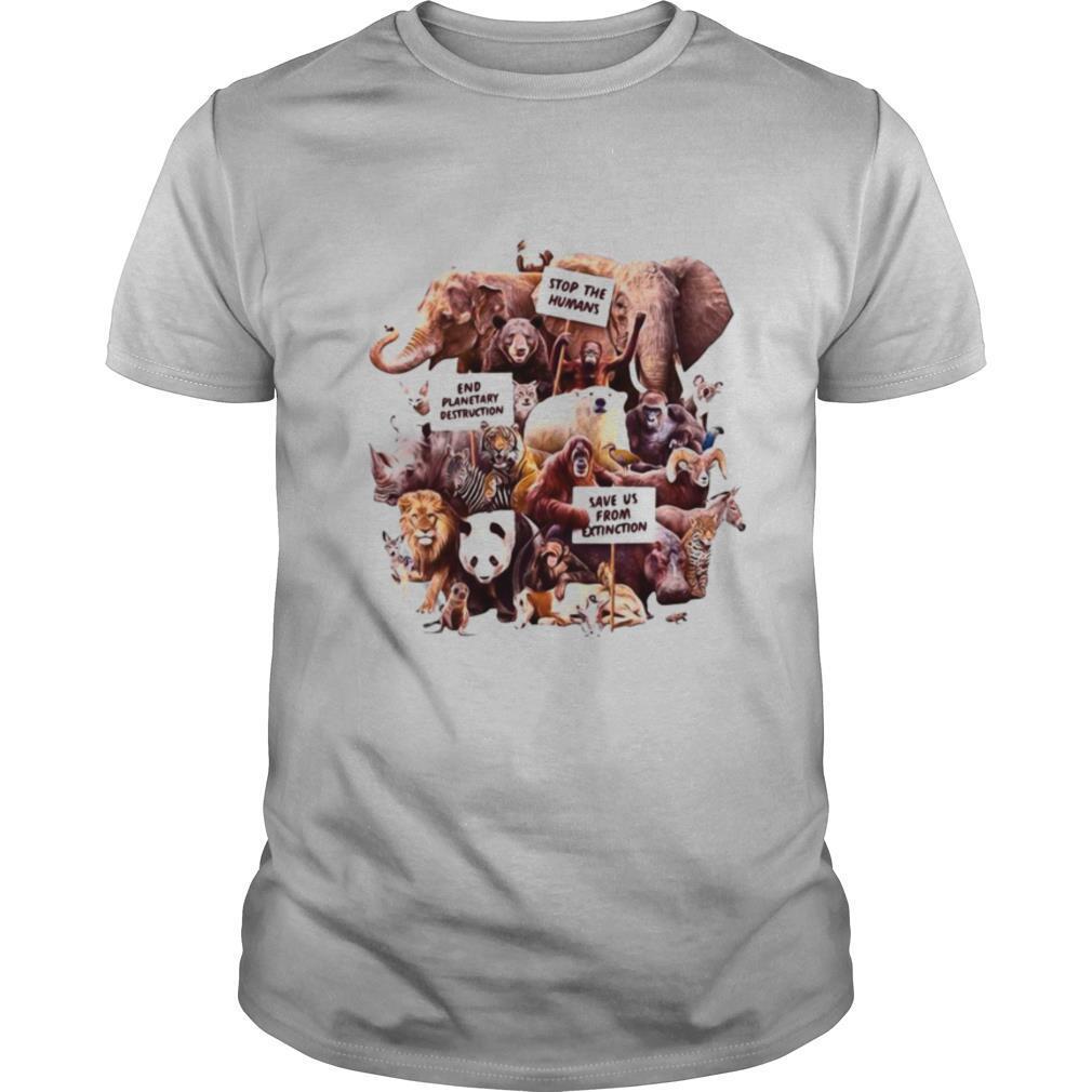 Dirty Velvet Animal Activists Graphic shirt Classic Men's