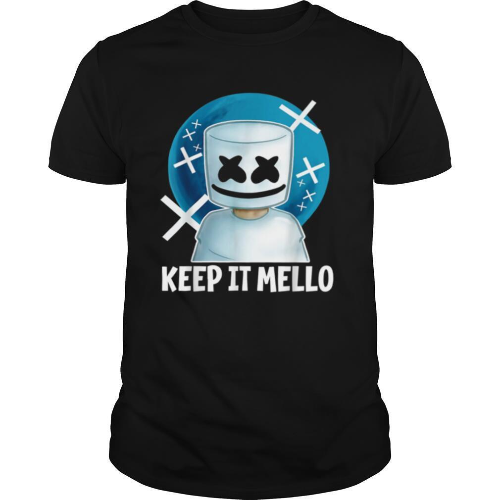 Graphic Marshmallow Dancing DJ Music For Fans shirt Classic Men's