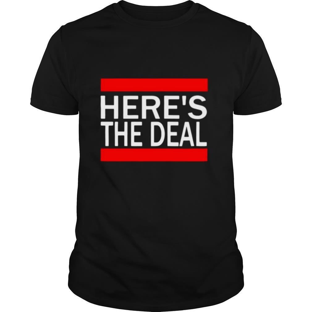 Here's The Deal Words From A Crazy Debate With Joe Biden shirt Classic Men's