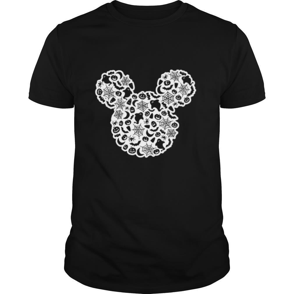 Mickey Mouse Halloween Ghost Pumpkin shirt Classic Men's