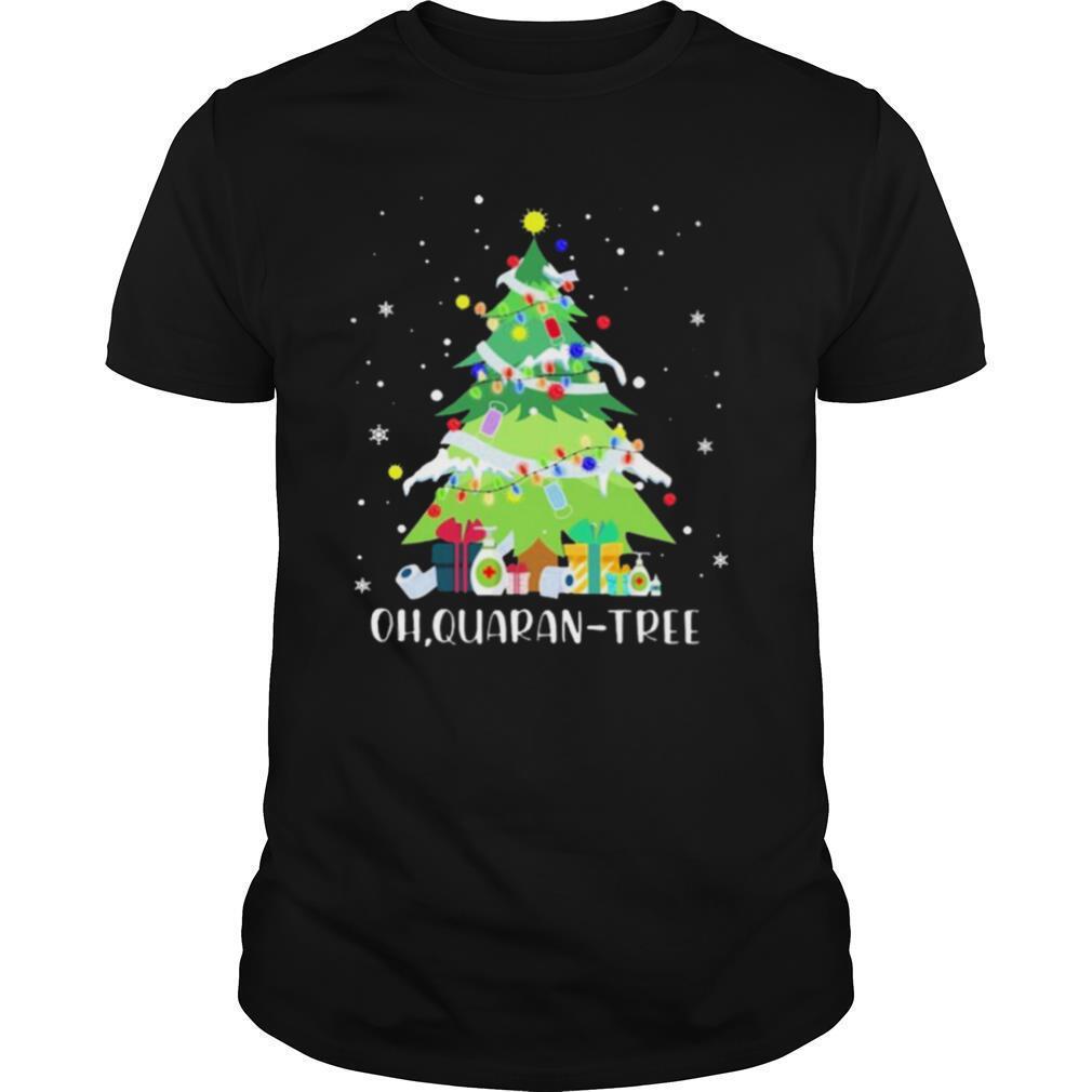 Oh Quaran Tree Christmas shirt Classic Men's