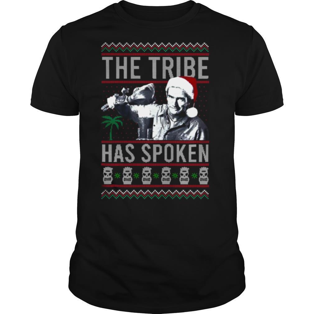 The Tribe Has Spoken Christmas Sweat shirt Classic Men's