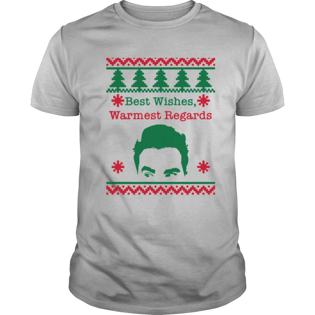 Best Wishes Warmest Regards David Rose Funny Rose Family Schitts Creek Ugly Christmas shirt Classic Men's