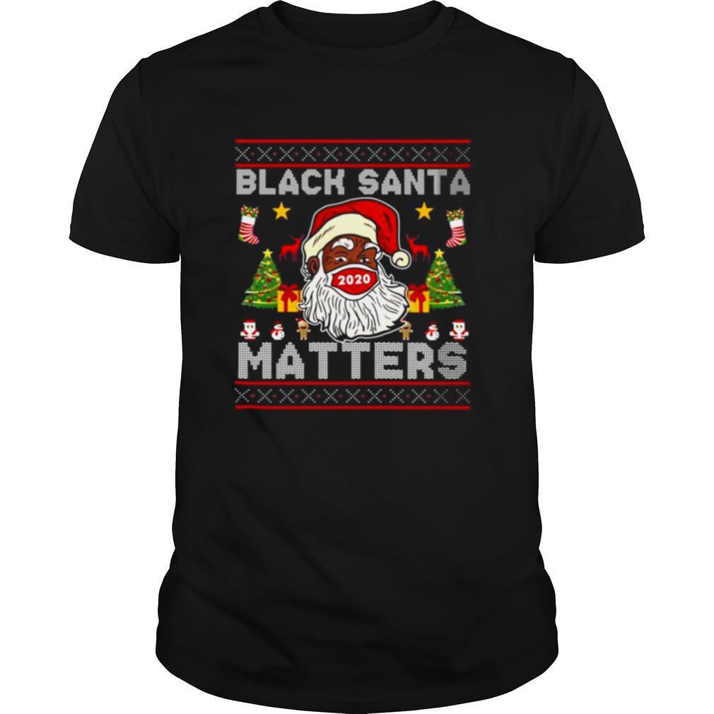 Black Santa Matters Christmas shirt Classic Men's
