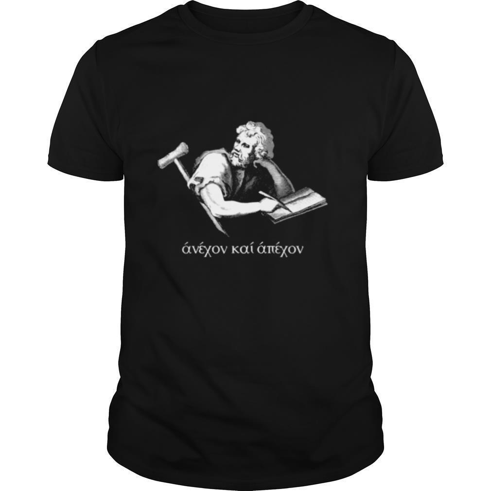 Epictetus Stoic Philosopher raised shirt Classic Men's