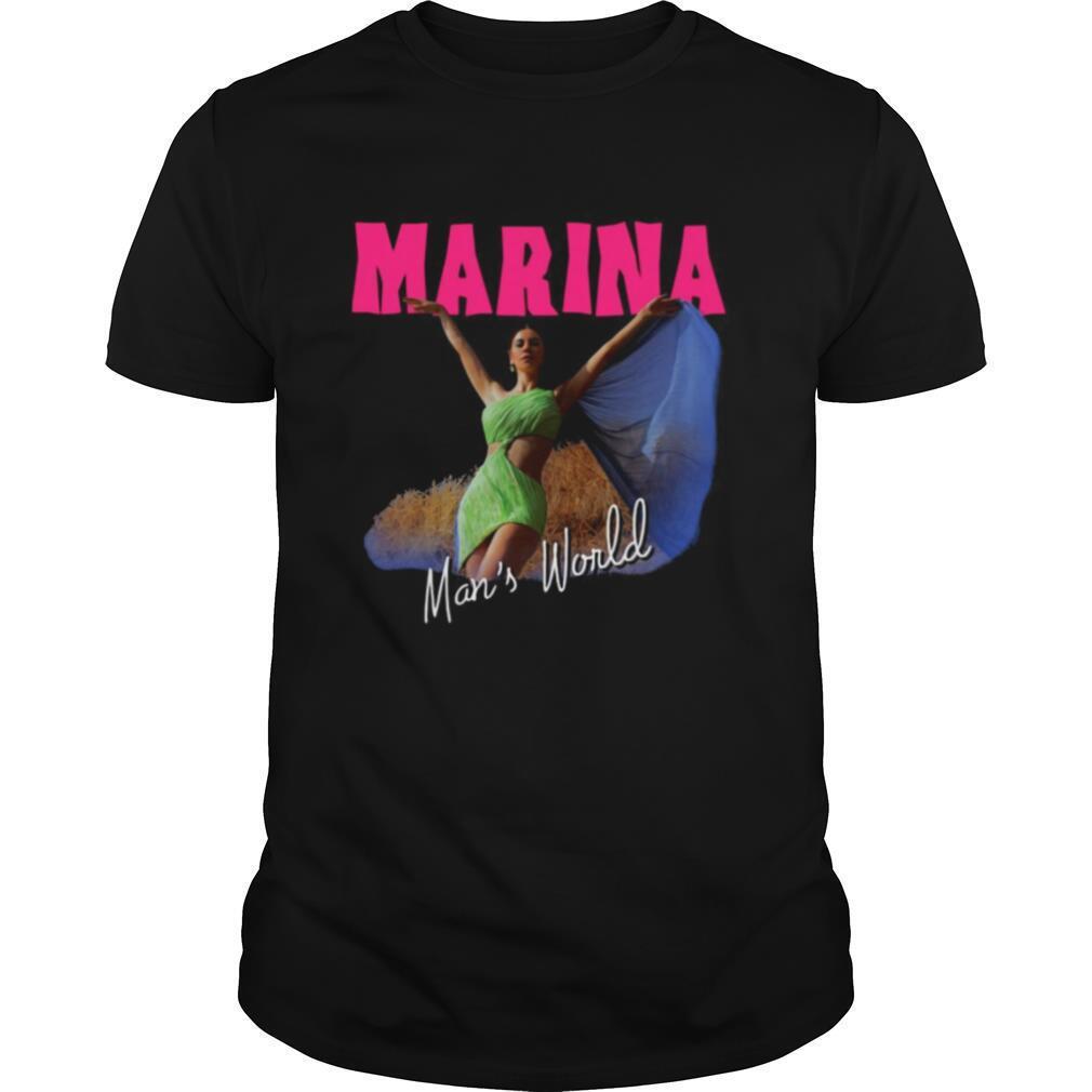 Marina Man's World shirt Classic Men's