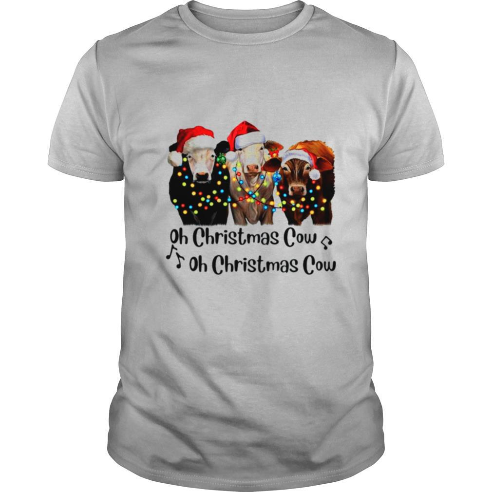 Oh Christmas cow oh Christmas cow shirt Classic Men's