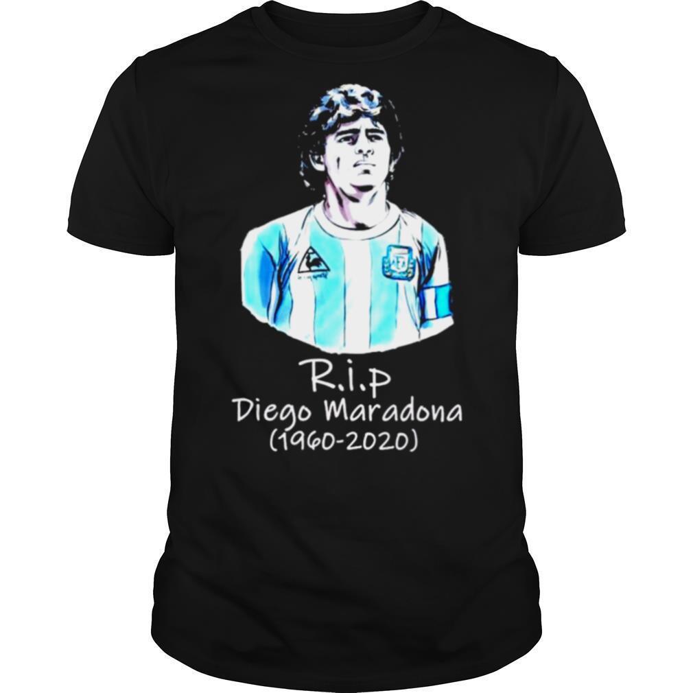 Rip Diego Maradona 1960 2020 shirt Classic Men's