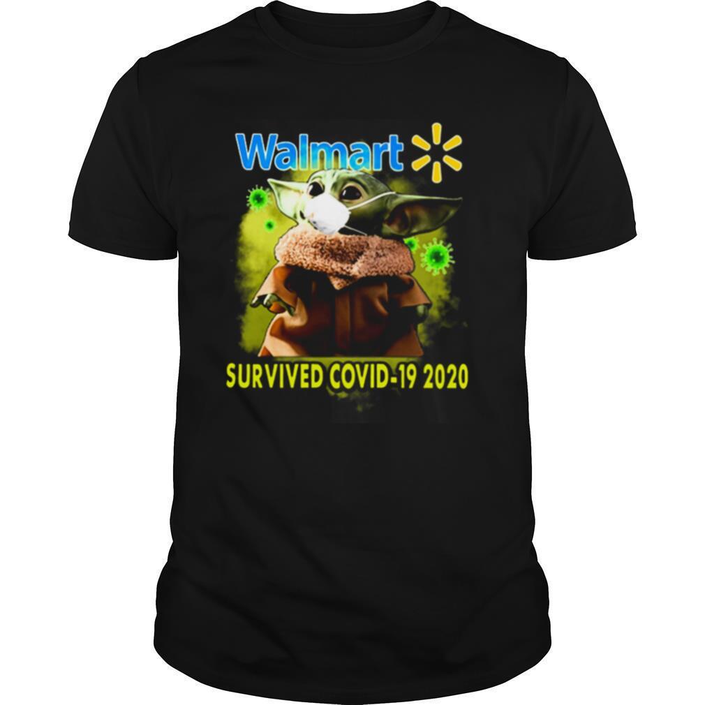 Yoda Walmart Survived Covid19 2020 Star Wars shirt Classic Men's