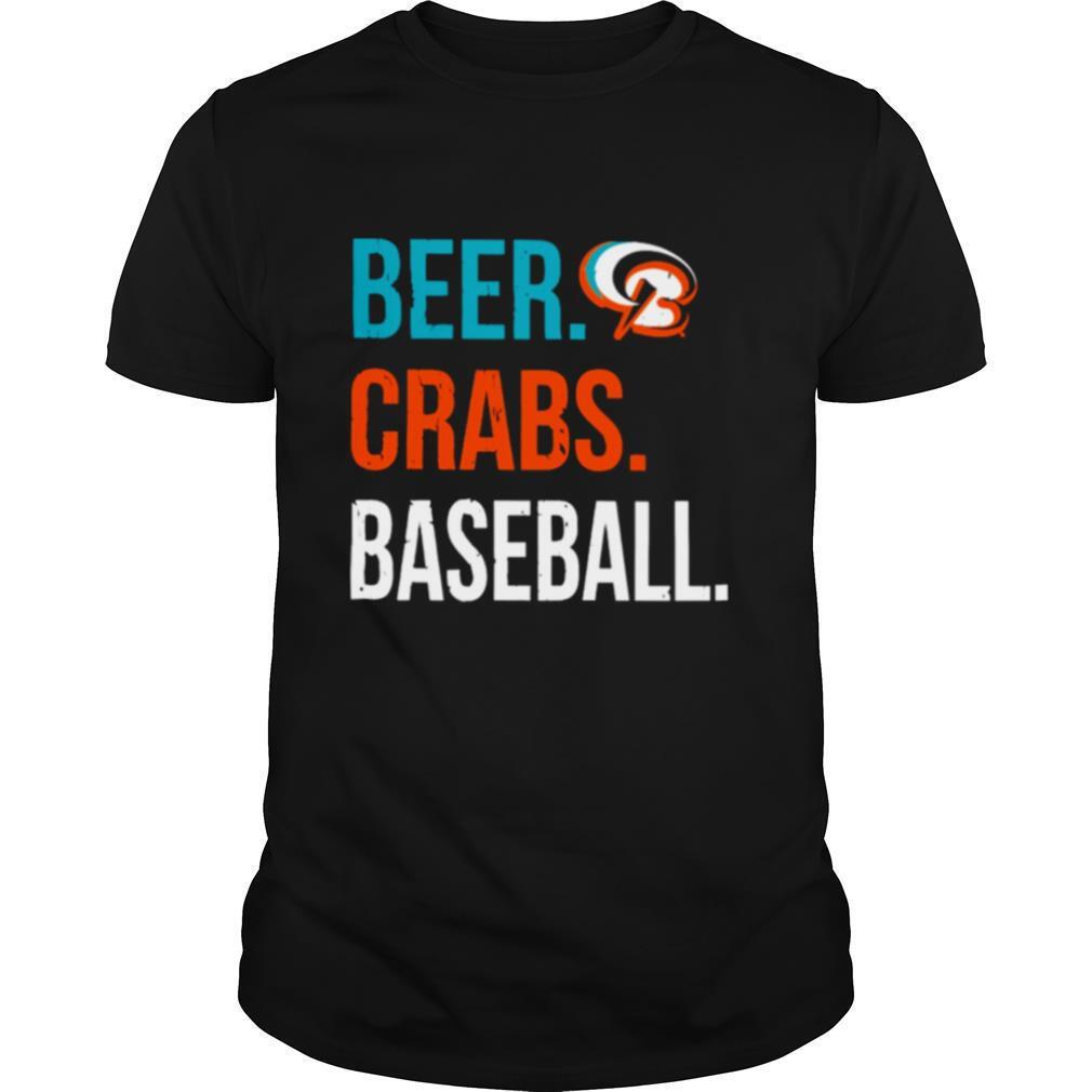 Beer Crabs Baseball shirt Classic Men's
