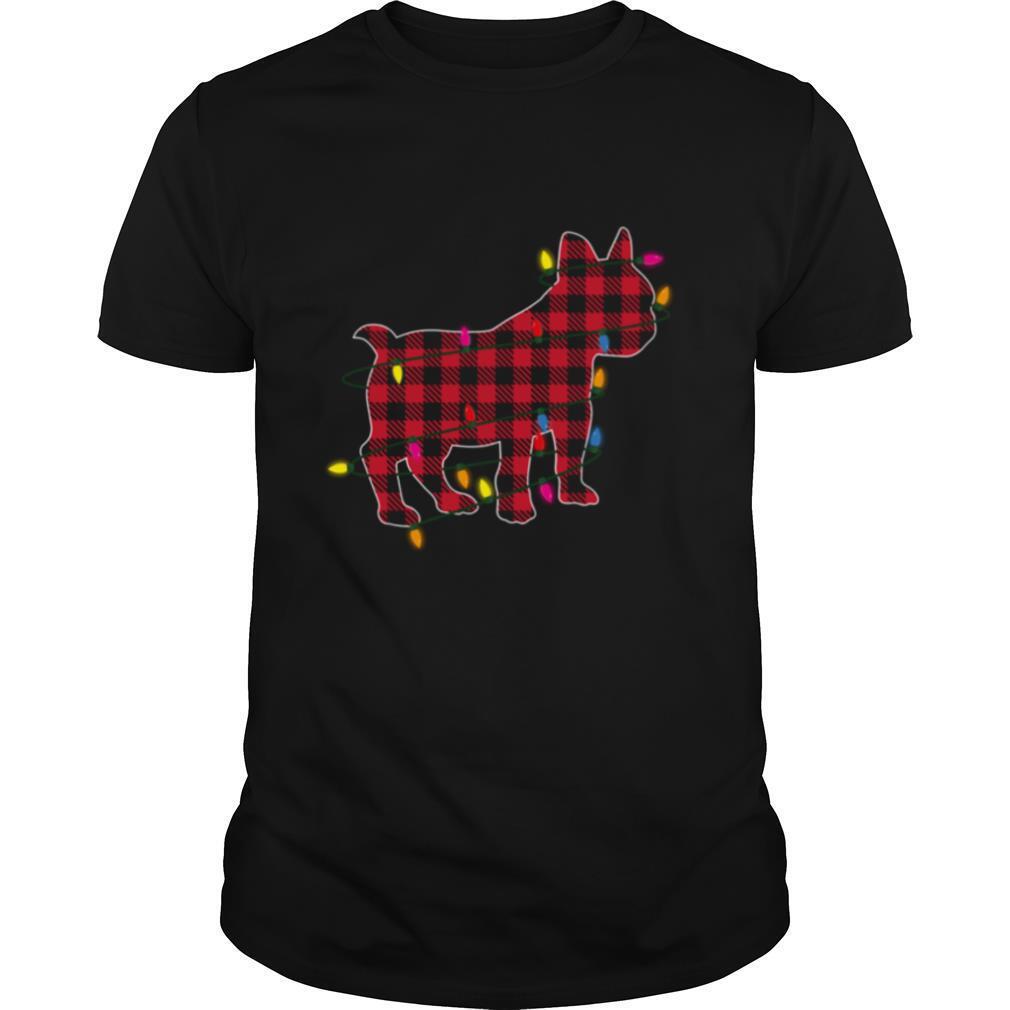 Buffalo French Bulldog Merry Christmas Pajamas shirt Classic Men's