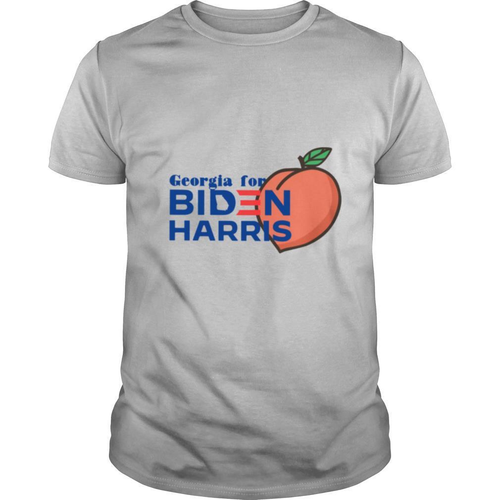 Georgia For Biden Harris Peach shirt Classic Men's