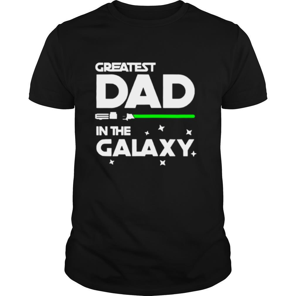 Greatest Dad In The Galaxy shirt Classic Men's