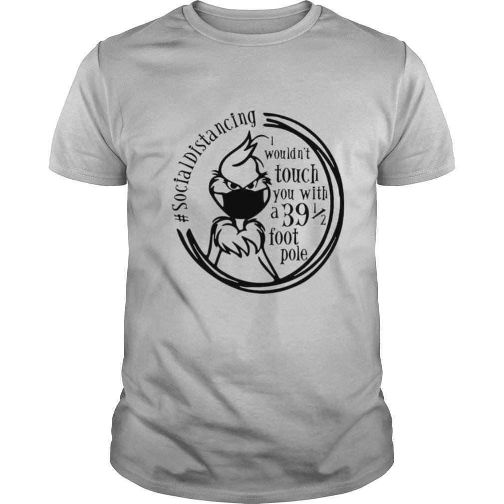 Grinch Face Mask Social Distancing shirt Classic Men's