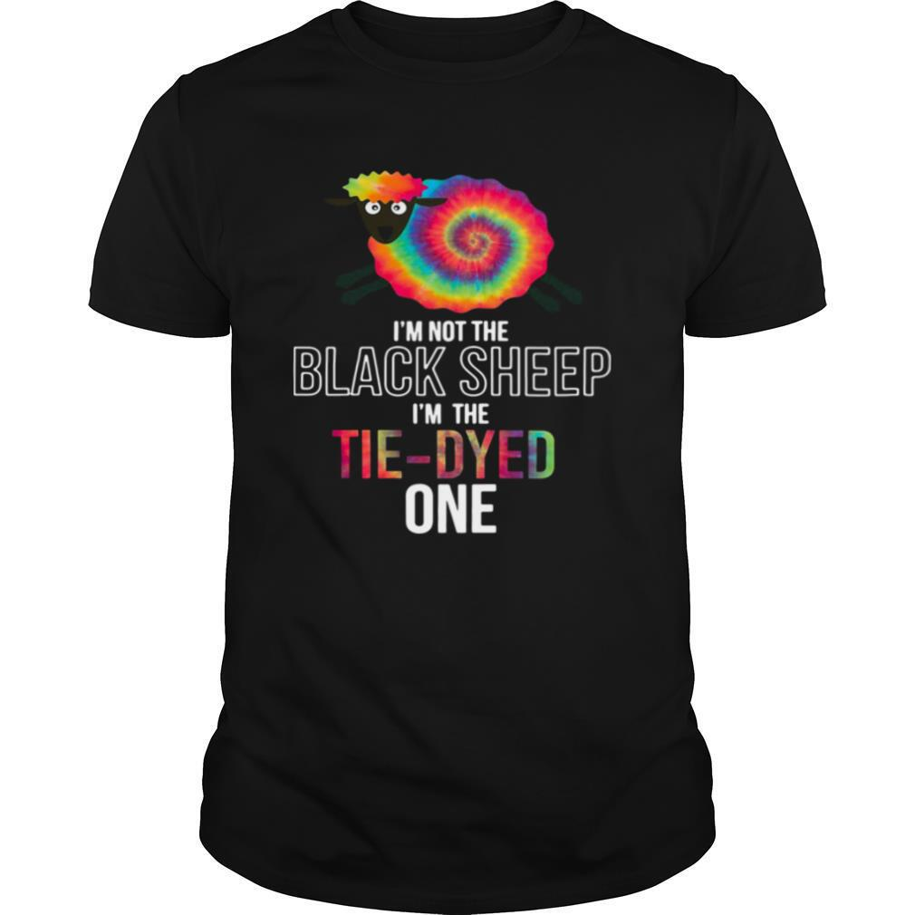 I'm Not The Black Sheep I'm The Tie Dyed One shirt Classic Men's