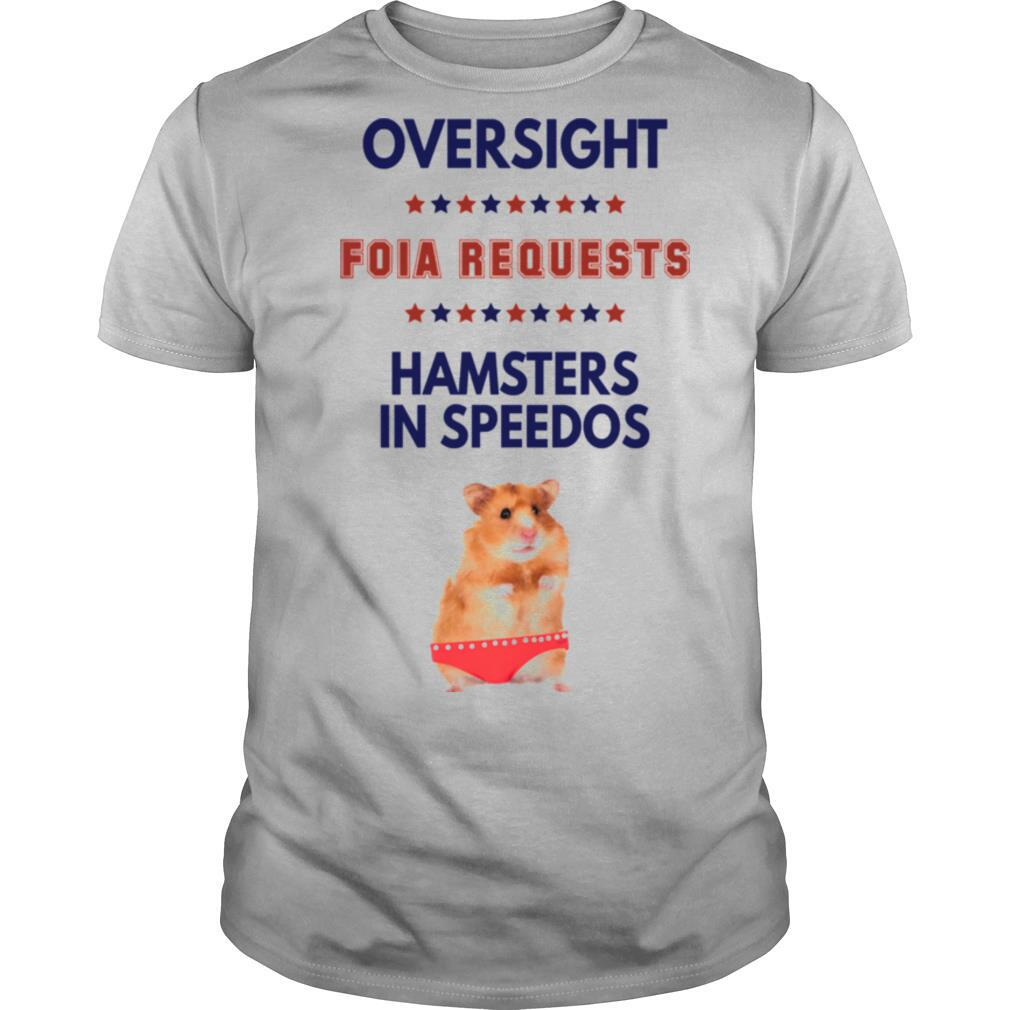 Oversight Foia Requests Hamsters In Speedos Stars shirt Classic Men's
