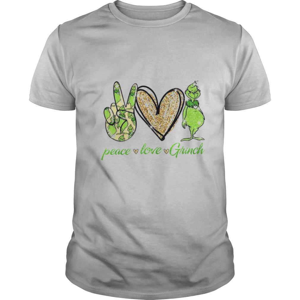 Peace Love Grinch shirt Classic Men's