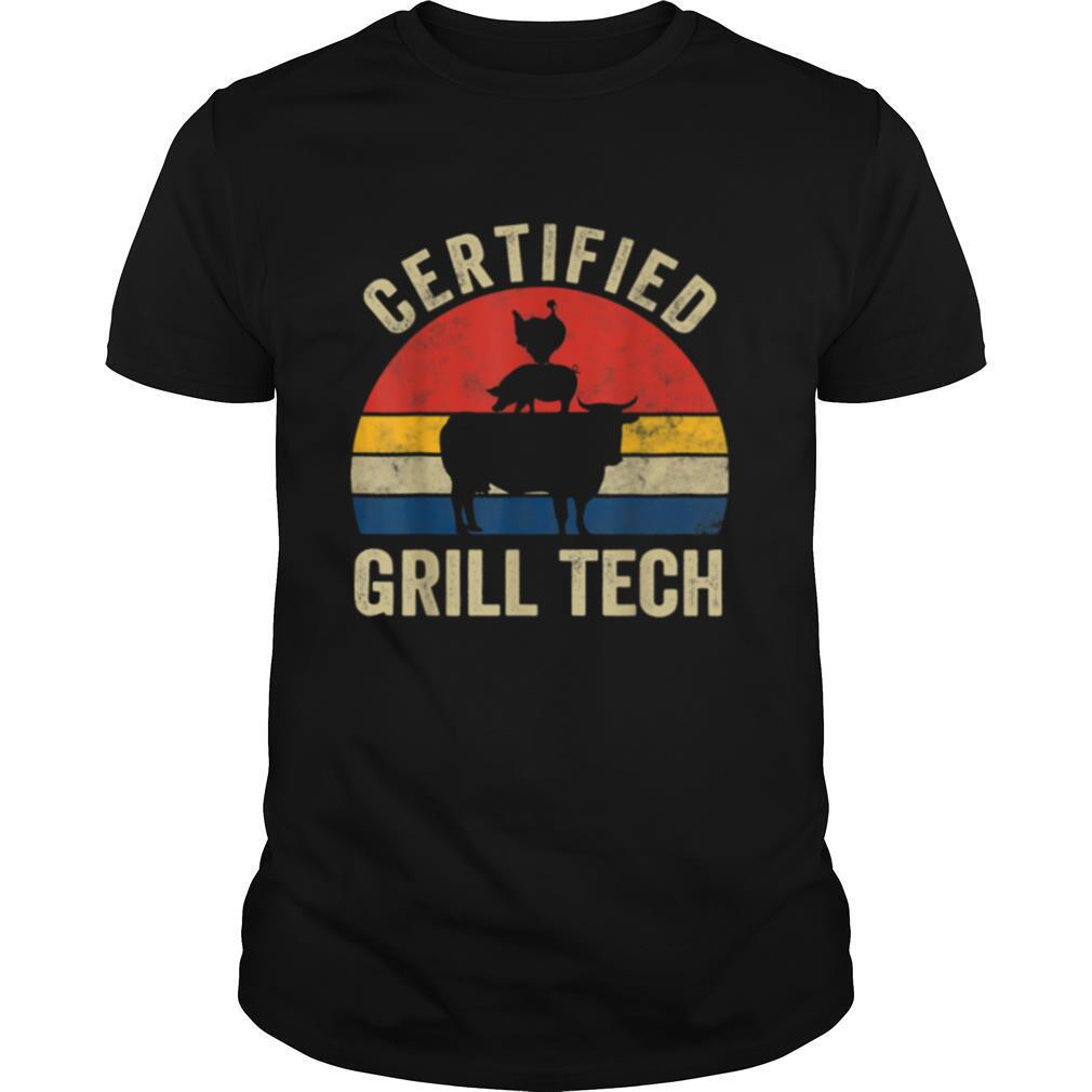 Smoked Meat BBQ Pitmaster Grilling shirt Classic Men's