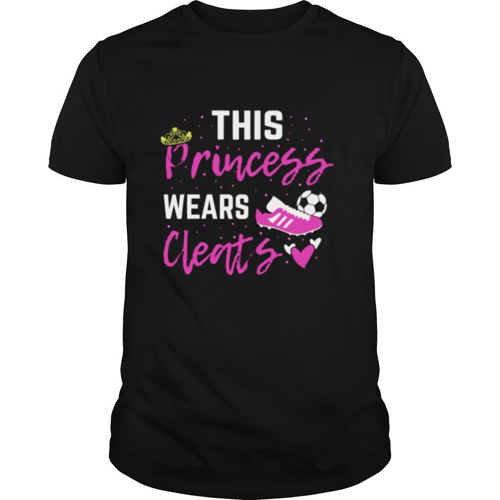 This Princess Cleats Coach Soccer Player shirt Classic Men's