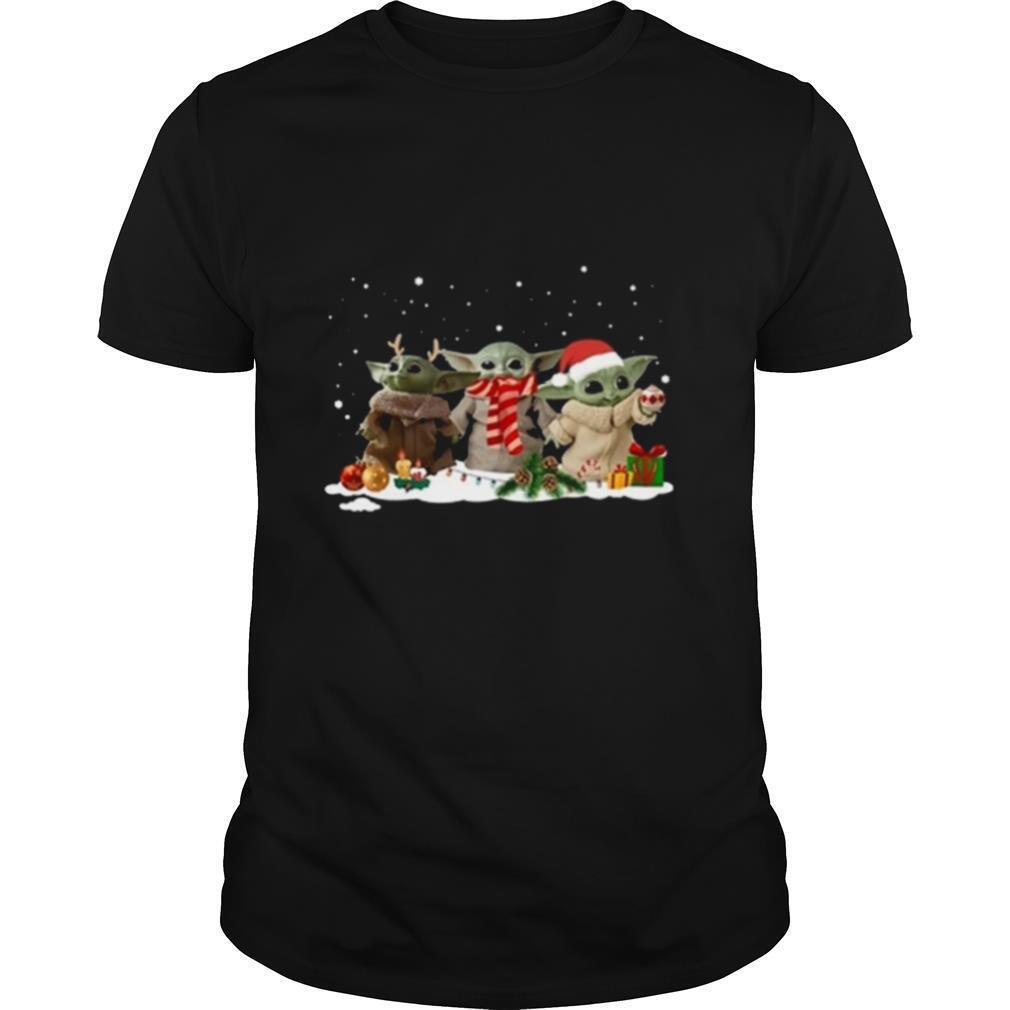 Baby Yoda gift Christmas shirt Classic Men's