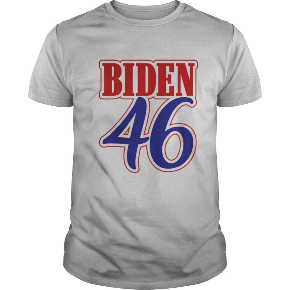 Biden 46 red and blue design shirt Classic Men's