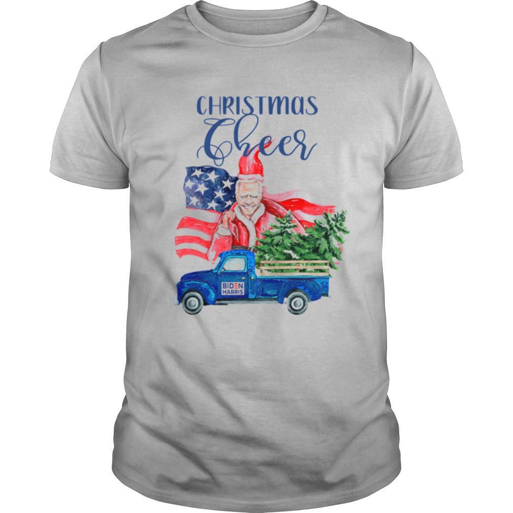 Christmas Cheer Joe Biden Santa Claus Flag U.S shirt Classic Men's
