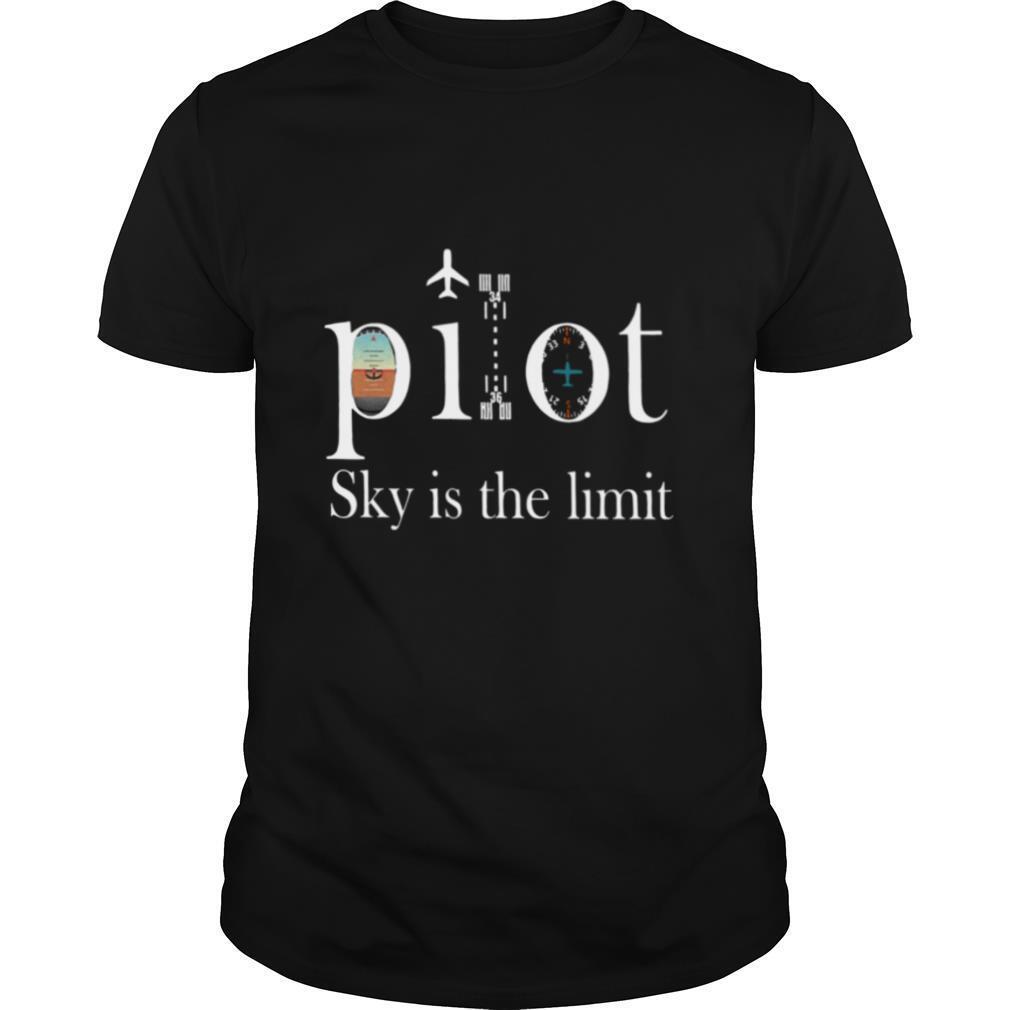 Pilot Sky Is The Limit shirt Classic Men's