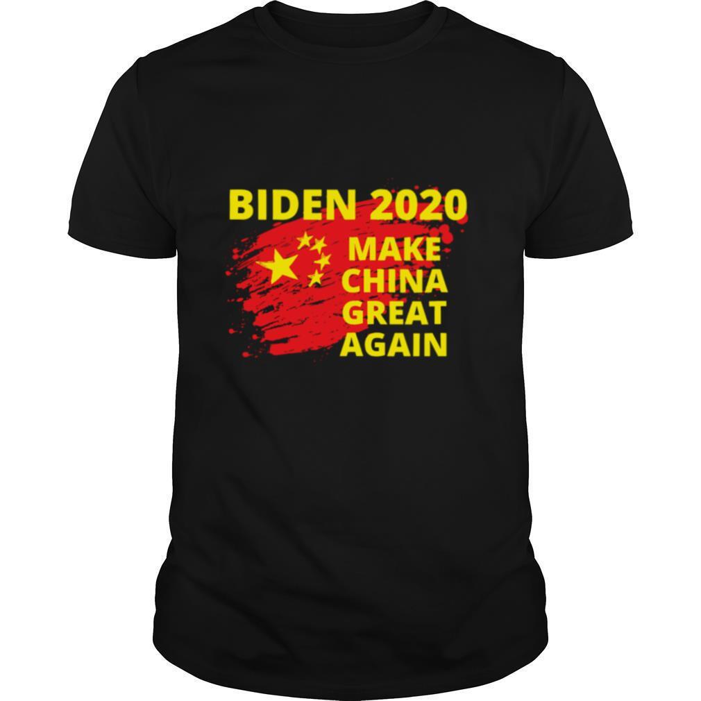 Biden 2020 Make China Great Again Political Sarcastic Funny shirt Classic Men's
